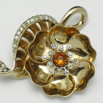 MARCEL BOUCHER Phrygian Cap 1948 Mechanical Day and Night Brooch
