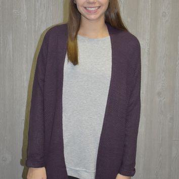 Dream Purple Cardigan