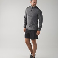 surge warm 1/2 zip *silver | men's long sleeve tops | lululemon athletica