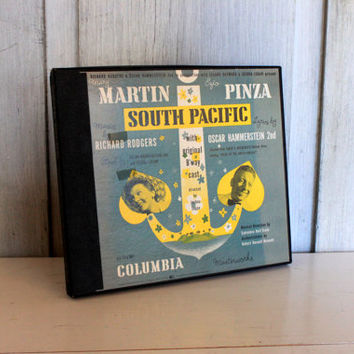 south pacific records boxed set vintage 1940s columbia masterworks