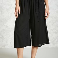 Semi-Sheer Culottes