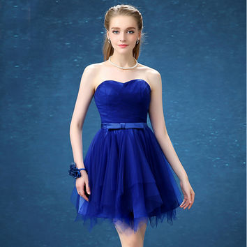 colorful fshort sweet 16 emerald green sweetheart teen homecoming dresses royal blue dress white ball gowns under 30 H3397