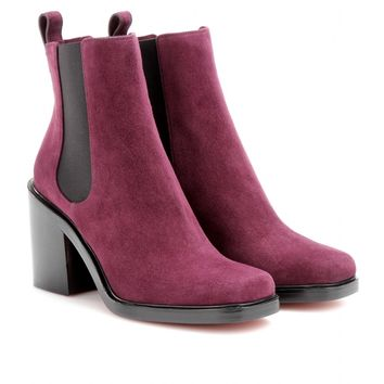 Adriana Suede Ankle Boots  » Givenchy ♦ mytheresa.com