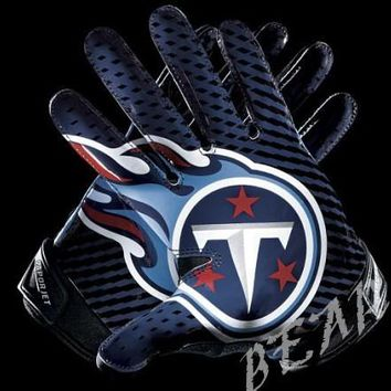 Tennessee Titans Glove 3x5 ft flag 100D Polyester flag 90x150cm NFL custom american football gloves flag