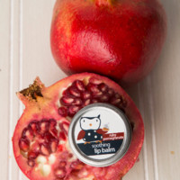 Ruby Pomegranate Lip Balm Tin