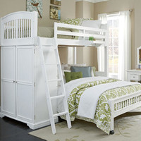 Atlantic Avenue Twin L Shape Loft Bed