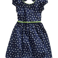 Speechless Girls Dress, Girls Bow-Back Polka-Dot Dress - Kids Girls Dresses - Macy's
