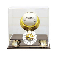 Seattle Mariners MLB Single Baseball Gold Ring Display