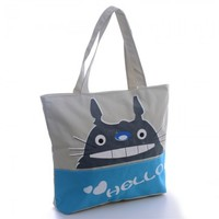 Cute Totoro Canvas Bag