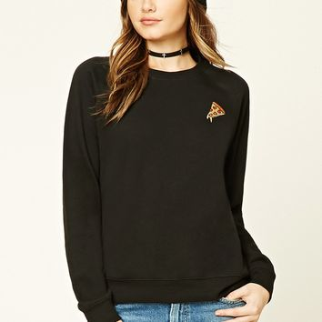 Pizza Patch Crew Sweater