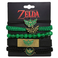 The Legend Of Zelda Bracelet Set