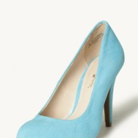 clear day sky blue heels at ShopRuche.com