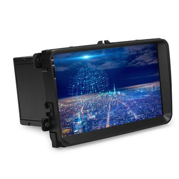 """9"""" Android 5.1 Autoradio GPS Bluetooth Navigation Car Stereo Player Fully Capacitive Touch Screen with 3G WIFI USB Rear View Camera"""