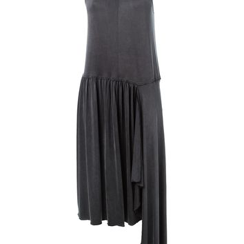 MM6 By Maison Martin Margiela asymmetric pleated dress