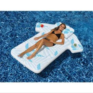 Walmart: Swimline 90604 Inflatable Fun Swimming Pool Hawaiian Cabana Shirt Float Lounger