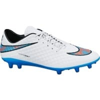 Nike Men's Hypervenom Phelon FG Soccer Cleat - White/Blue/Pink | DICK'S Sporting Goods
