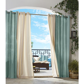 All-Weather Gazebo Stripe Curtain Panels
