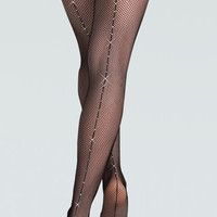 Free Shipping - Adult Rhinestone Fishnet Dance Tight by BODY WRAPPERS