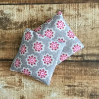 Heat or Cold Therapy Rice Bags Set of 2 Boo Boo Bags Bean Bags Hand Warmers Ice Packs