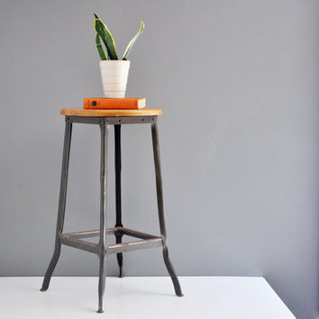 Vintage Industrial Shop Stool