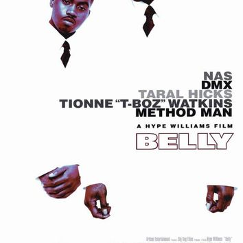 Belly 27x40 Movie Poster (1998)
