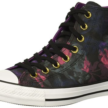 e6f7fa60a7b4f6 Converse Women s Chuck Taylor All Star Floral Print High Top Sneaker