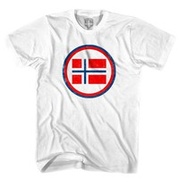 Norway Rretro Soccer T-shirt