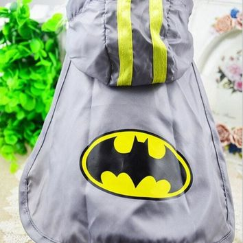 DCCKIX3 2015 new spring and summer dog clothes pet clothing Batman Cape free transportation XS-XXL