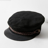 Brixton Kayla Suede Moto Cap | Urban Outfitters