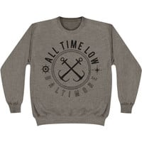 All Time Low Men's  Sea Sick Sweatshirt Grey