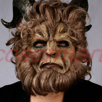 Beauty and the Beast Adam Prince Mask Cosplay
