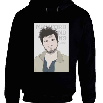Mumford And Sons Winston Marshall Vektorize Hoodie