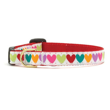 Up Country Pop Hearts Cat Collar