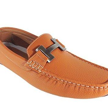 Payne03 Men's Casual Light Weight Driving Moccasins Slip On Loafer Shoes (13, Tan)