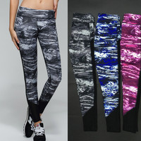 Gym Yoga Lace Stretch Women's Fashion Pants [10195855884]