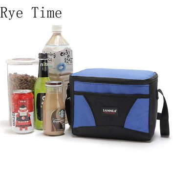 new brand cooler bag insulated cool shoulder bags picnic ice pack thermo lunch box food milk fresh vehickle insulation bag