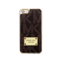 New MK Designer iPhone 5/5s Case Brown With Gold Trim Retail Box And Tags (Discontinued By The Manufacturer)