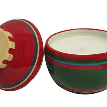 Set of 2 Better Homes & Gardens Christmas Ornament Jar Candles