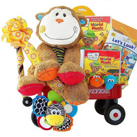 Baby Einstein Monkey Madness Radio Flyer Wagon Gift Set