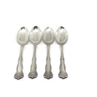 """Antique Vintage Anchor ROGERS Anchor XII """"ARGYLE"""" Silver Plate Spoons, Vintage Rustic Prairie Wedding"""