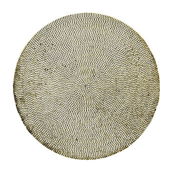Patina Placemat | Champagne S/4