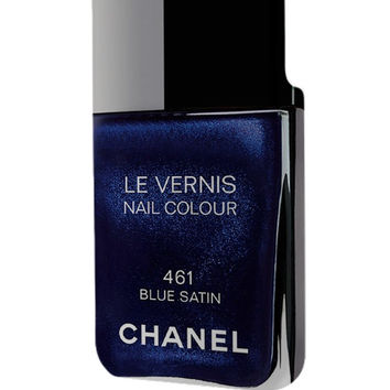 Best 3D Full Wrap Phone Case - Hard (PC) Cover with Chanel Nail Polish Blue Satin Design