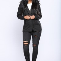 Maddison Jacket - Black