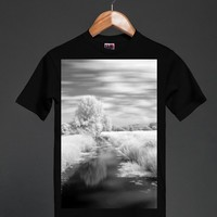 LANDSCAPE AND CREEK Bayside Unisex Tee by Elsewhere