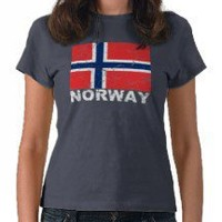 Norway Vintage Flag Shirt