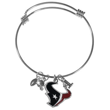Houston Texans Charm Bangle Bracelet