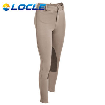 LOCLE Child Horse Riding Breeches Children Boys or Girls Horse Riding Pants Equestrian Pants For Teenager