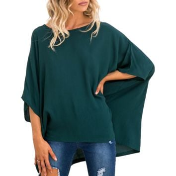 Women's dresses are hot sellers with plus-size autumn/winter t-shirts with round necks