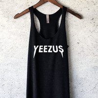 Kanye West Yeezus Tour Tank Top in Black