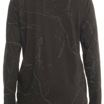 The Puma x Stampd LS Tee in Cotton Black